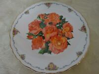 Royal Albert Queen Mothers Favorite Flowers Collectors Plate Elizabeth of Glamis