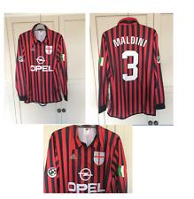 AC MILAN MALDINI CENTENARY SHIRT 1999 2000 SERIE A RETRO ED MED ITALY LONG SLEEV