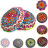 Indian Mandala Floor Pillow Case Throw Round Bohemian Pouf Cushion Cover Sham UK