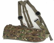 British Military Molle Belt w/Harness & Roll Pin Belt MTP/Multicam - Small - NEW