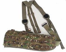 British Military Molle Belt w/Harness & Roll Pin Belt MTP/Multicam - Small - NEW