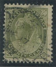 CANADA #84 USED DATED CDS