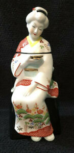 Japanese Sitting Geisha Porcelain Decanter - 720ml