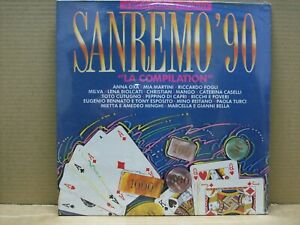 Sanremo '90 - LP - CBS 1990 - ALMOST SEALED!