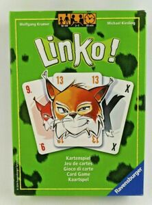 Linko! Abluxxen Card Snatching Game Luck Creativity Strategy Ravensburger NEW