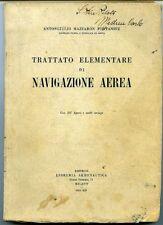 Trattato elementare di navigazione aerea - Antongiulio Mazzar•n Fontanive,