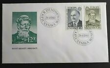 1980 Luxembourg Stamp FDC - Europa 1980  - 28/4/80 - Unaddressed
