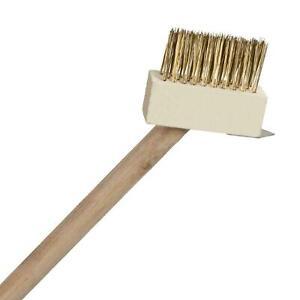 Metal Bristle Scraper Patio Weed Brush Wire Decking Weed Removal Weeding Tool