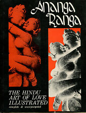 Ananga Ranga: The Hindu Art of Love Illustrated-First Edition/DJ-1964