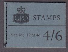 GB QEII L63  4/6 WILDING BOOKLET MARCH 1966 VERY FINE