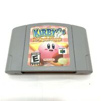 Kirby 64 The Crystal Shards | Nintendo 64 | Cart Only | Authentic N64 & Tested