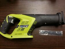 Ryobi P515 One+ 18V Li-Ion Cordless Reciprocating Saw, Anti-Vibration Handle