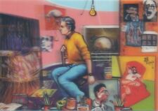 3-D Francis Bacon (Maler) von Juan Carlos Espejo Linsenförmiges 3D Postkarte