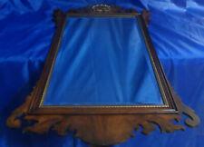 Virginia Galleries HENKEL HARRIS Co. Chippendale Mahogany Beveled Mirror