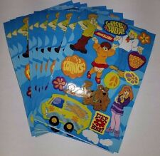 Sandylion Scooby-Doo Stickers lot of 5 SHEETS 4 X 6