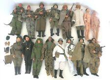 16 PC LOT DRAGON SOVIET SOLDIER ACTION FIGURES 14 W/UNIFORMS & ACCESS 2 NUDE