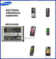 BATTERIA ORIGINALE SAMSUNG AB553446BU GT-E1232,E2152,E2230,E2232 Duos,E2232,E225