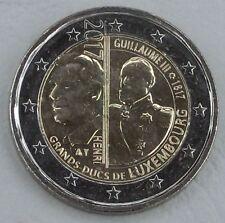 2 Euro Luxemburg 2017 Guillaume / Wilhelm III unz.
