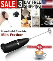 Handheld Electric Milk Frother Foamer Whisk Mixer Stirrer Coffee Maker Eggbeater