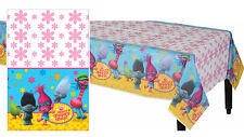 Trolls Plastic Table Cover Birthday Party Decoration Supplies Table cloth NEW