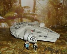 STAR WARS ACTION FLEET SERIES MILLENNIUM FALCON VEHICLE W/ TWO MINI FIGURES