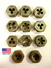 Hex Dies, Metric, 11pcs, 11 Sizes, New, USA.