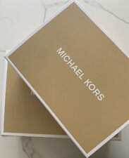 New Michael Kors Gift Boxes Empty Medium and large 12x9x4 , 15x11x5-2 boxes