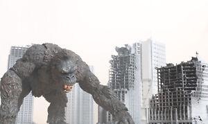 Sh Monsterarts Xplus Scale GODZILLA 1 XL Buildings  1/200 Scale EyePop