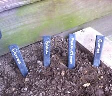 Slate Plant Labels 20x7 Inch Tags Handmade In Norfolk Perfect Present