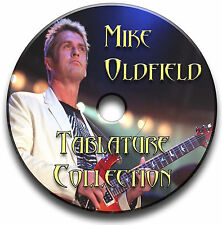 MIKE OLDFIELD PROG ROCK GUITAR TAB TABLATURE SONG BOOK ANTHOLOGY SOFTWARE CD