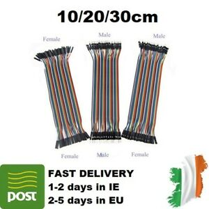 5/10/15pcs Arduino Dupont Jumper Ribbon Cable : M-M/M-F/F-F 10cm/20cm/30cm