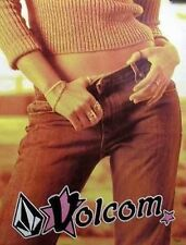 Volcom surf skateboard 2001 aXtion girls promo poster Flawless New Old Stock
