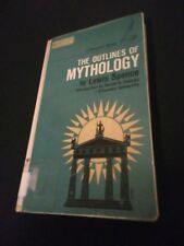 The Outlines Of Mythology by Lewis Spence 1961 vintage hardcover [discard copy]