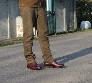 Chasse Elegance Gentelmens Hunters Copper buffalo leather Trousers CE66 -  UK 28