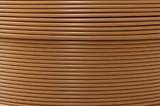 1 m Bowdenzughülle cappuccino braun für Schaltungszüge