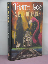 1st, signed, Secret Books of Venus 3: A Bed of Earth by Tanith Lee*(2002)