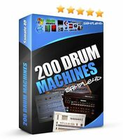 6800+ Drum Machine Samples Akai Alesis Emu Ensoniq Korg Roland SP12 JR MPC WAV