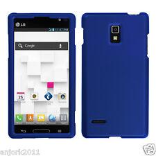 LG Optimus L9 T-Mobile P769 Snap-On Case Cover Accessory Solid Titanium Blue