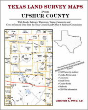 Upshur County Texas Land Survey Maps Genealogy History