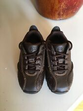 Timberland Toddler Brown Leather Shoe Size US 5 (48811M)