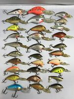 Very Large Lot Of 30 Assorted Rebel Fishing Lures! Fill Up Your Tackle Box!