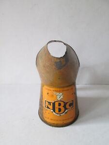 National Benzole oil jug Esso.Shell. BP. garage equipment.oil pourer.oil measure