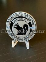 D32 NYPD FIRE ARMS SECRET SQUIRREL WEAPONS COORDINATOR RANGE CHALLENGE COIN