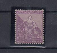 Cape of Good Hope QV 6d Purple Mint SG52a MLH Gum J975