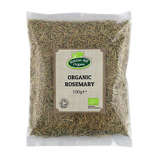 Organic Rosemary 100g - Dried Herb - Certified Organic