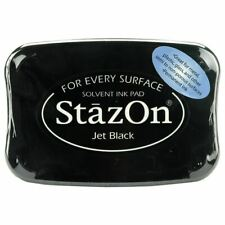 Tsukineko Jet Black StazOn Ink Pad SZ31