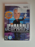 Jeopardy Game New & Sealed! Nintendo Wii
