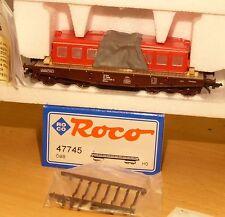 Roco 47745 Schwerlastwagen Smm mit Ladung Lokgehäuse E-Lok 1020 012 -9 ÖBB Ep.4