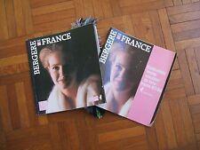 Catalogues ECHANTILLONS et  tricot mains et machine BERGERE de FRANCE 1987-1988