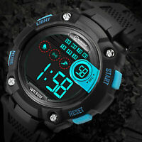 Sports Digital Electronic Waterproof Fashion Kid Watches For Children Boys Girls